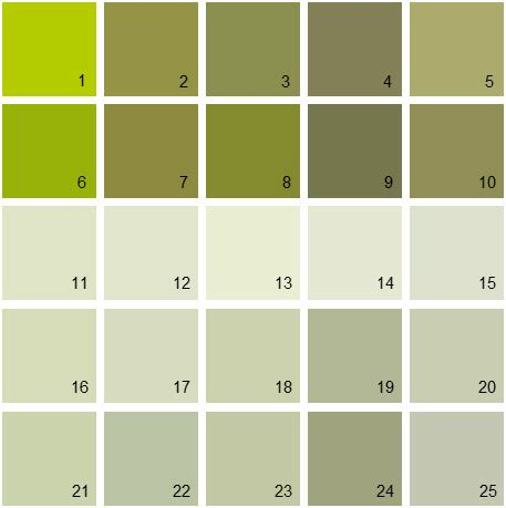 benjamin moore paint colors green palette 09 | house