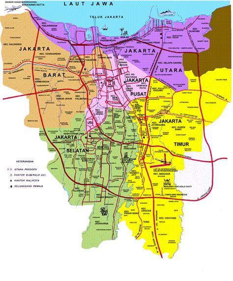 jakarta pusat map peta jakarta selatan jakarta map peta jakarta timur
