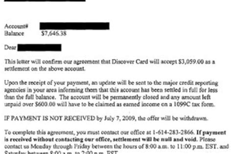Credit Card Settlement Letter From Bank Debt Settlement Letter Archives Leave Debt