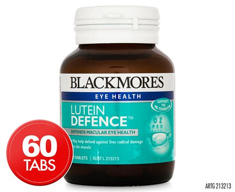 Blackmores Lutein Vision Jual Vitamin Mata blackmores eye health lutein defence 60 tabs great daily deals at australia s favourite
