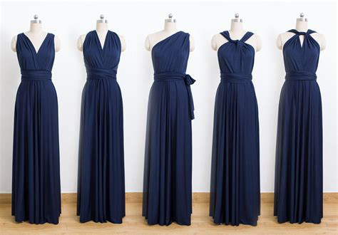 Bridesmaid Dresses 50 Usa - blue convertible dress bridesmaid dress infinity