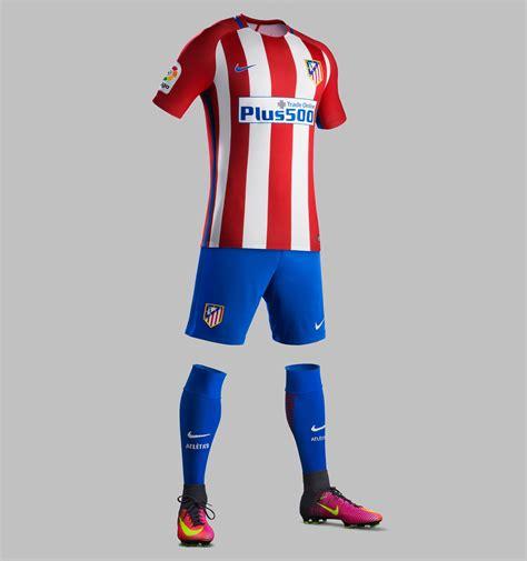 Iphone 7 Atletico Madrid Home Nike Hardcase atl 233 tico madrid 16 17 home kit released footy headlines