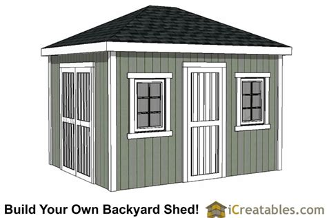 Build Your Own Storage Shed Plans by 10x12 Shed Plans Building Your Own Storage Shed Icreatables
