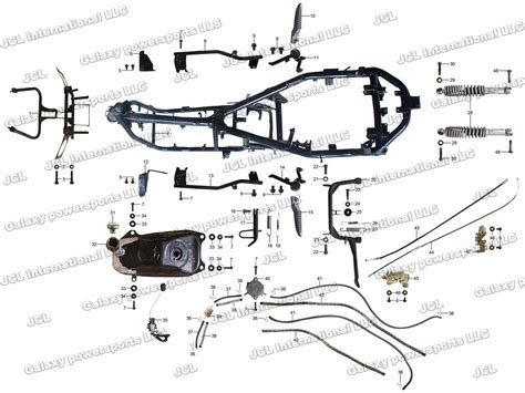 peace sports 150cc scooter wiring diagram get free image