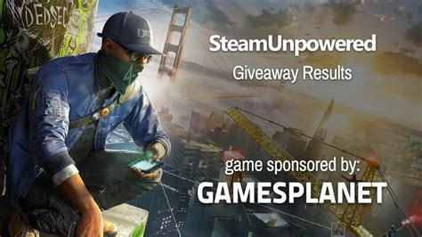 dogs 2 steam giveaway results watch dogs 2 steam unpowered