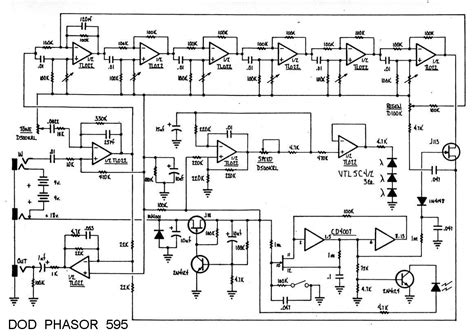 Efek Bass Wler The Low Overdrive Distortion the free information society dod 595 electronic circuit