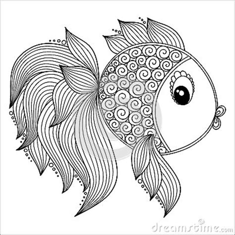 coloring pages fish for adults fish pattern coloring pages stock photos images