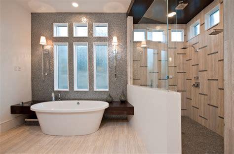 Houzz Modern Bathroom Tile Design The You By Hanken Design