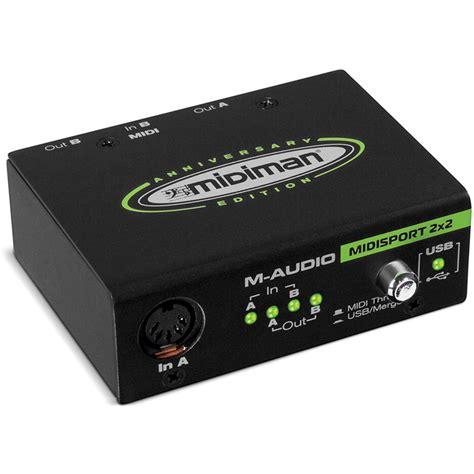 Usb Midi m audio midisport 2 in 2 out usb midi interface 99005253700