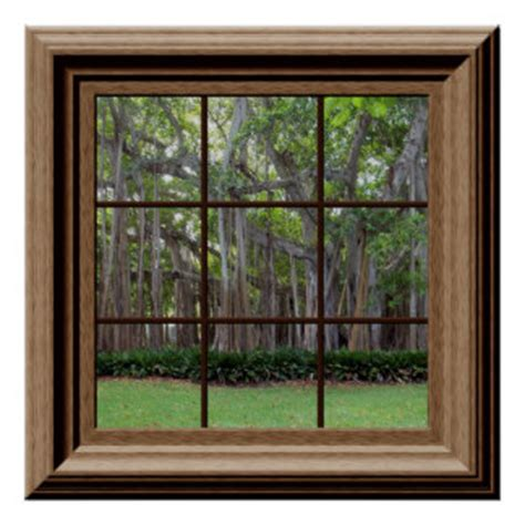 faux window fake window posters zazzle