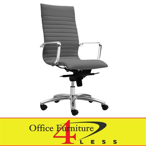 office furniture 4 less c 309hg executive highback swivel chair grey office furniture 4 lessoffice furniture 4 less