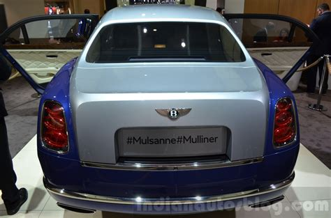 bentley mulliner limousine bentley mulsanne grand limousine by mulliner rear at 2016