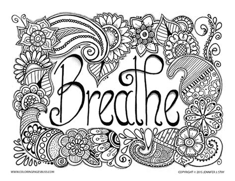 coloring pages stress free free coloring pages of stress