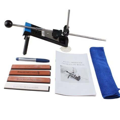 sharpening angle for kitchen knives agptek professional kitchen knife sharpener system fix