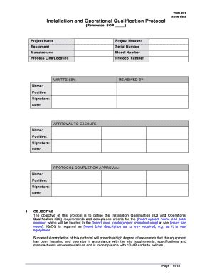 installation qualification template signature sle of my name forms and templates fillable