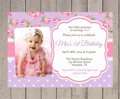 Christening 1st Birthday Invitations Best Party Ideas 1st Birthday And Christening Invitation Templates