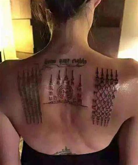 Angelina Jolie Tattoo Brad Pitt | el nuevo impresionante tatuaje de angelina jolie tkm