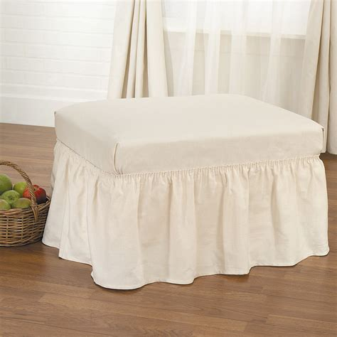Ottoman Slipcover by Best Ottoman Slip Covers That You Will Be Interested With
