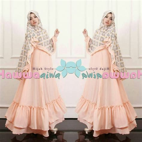 Aesha Shabby Syari By Hawwa Aiwa baju model gamis syar i aesha marocco hawwa aiwa