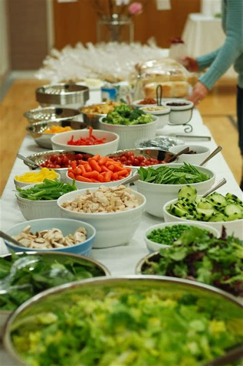 How To Bring Salad To A Potluck by 1000 Images About Salad Bar On Salad Bar