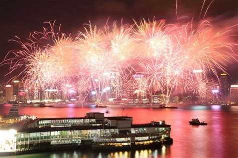 new year hong kong fireworks hong kong new year fireworks 2018