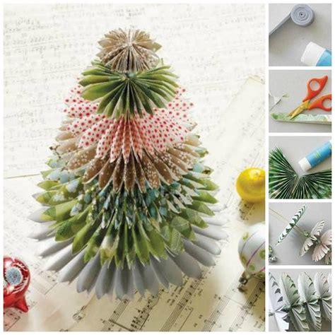 mini japanese paper christmas tree diy cozy home