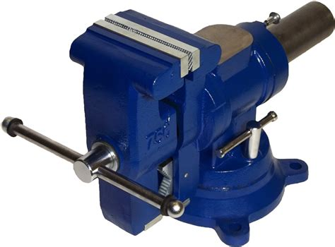 bench pipe vise yost 750 di 5 quot heavy duty multi jaw rotating bench