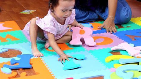 Belajar Dan Bermain Huruf Hijaiyah Murah seru balita lucu belajar dan bermain karpet puzzle huruf