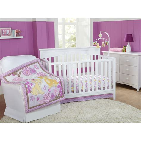 Walmart Crib Bedding Sets Disney Baby Bedding King Quot Nala Quot 3 Crib Bedding Set Walmart