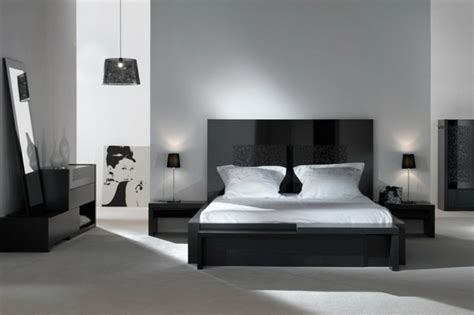 deco chambre noir decoration chambre noir blanc gris visuel 5