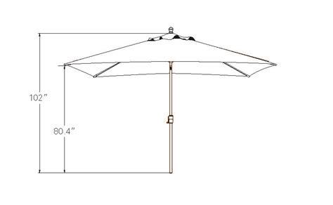 Patio Table Dimensions Adriatic Market Patio Umbrella Pc Pools