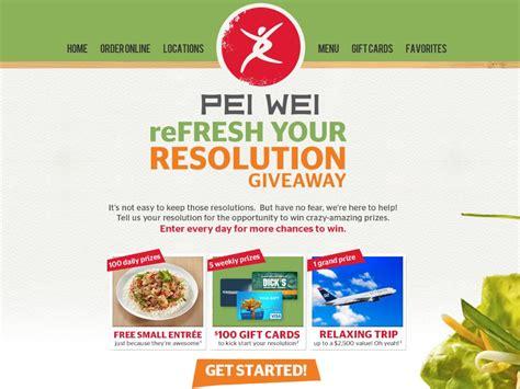 Pei Wei Gift Card - pei wei gift card gift ftempo
