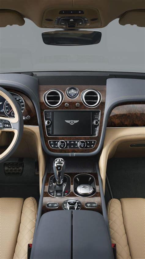 Interior Frankfurt by Wallpaper Bentley Bentayga Interior Frankfurt 2015 Cars