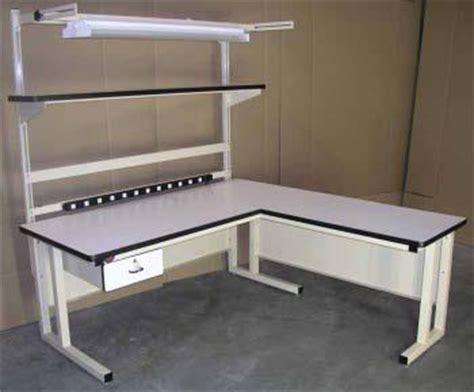 l shaped work bench innotech products inc equipment supplies for
