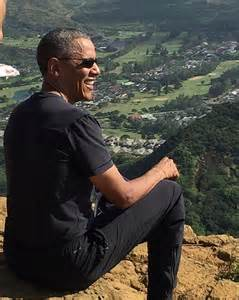 Koko Head Stairs Of Doom by Obamas Hit The Hiking Trail On First Family S Two Week