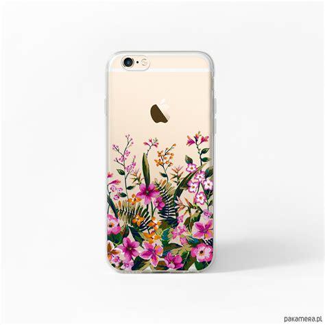 etui iphone   case obudowa kwiaty tropical pokrowce