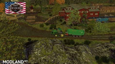 ogf usa map   mod  farming simulator   fs ls  mod