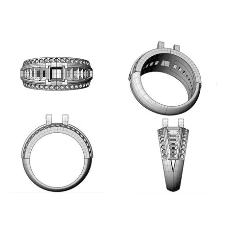 Bespoke Wedding Ring Design by Bespoke 3d Jewellery Design Brighton East Sussex Kent
