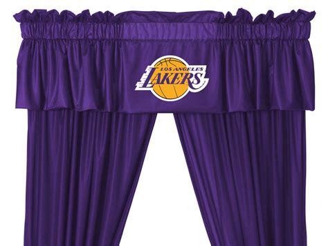 lakers curtains nba los angeles lakers curtain set 5pc basketball drapes