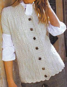 patrones de tejido gratis chaleco tejido en redondo 1000 images about chaquetas y jerseys en punto y