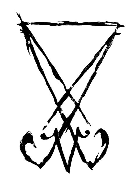 sigil of lucifer by wickedwormwood on deviantart