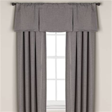 gray valance curtain buy grey valance curtains from bed bath beyond