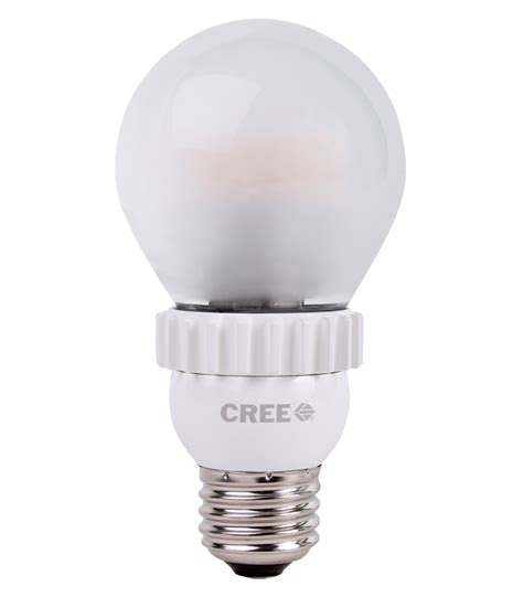 pictures of led light bulbs cree s led bulb looks like an incandescent and lights like