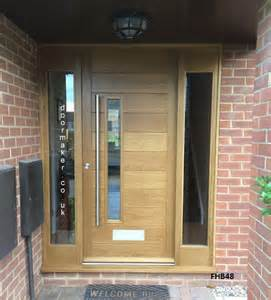 Contemporary Front Doors With Sidelights Jonathan Elwell Gallery