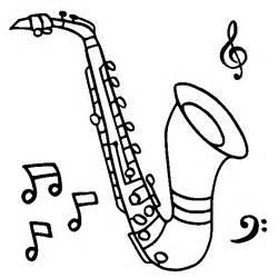 Disegni Da Stampare E Colorare Con Soggetto Strumenti Musicali sketch template