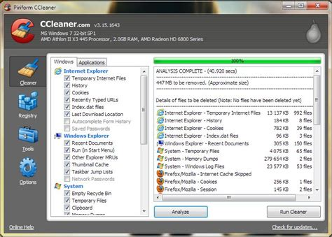 ccleaner uninstalled itself software review ccleaner by piriform nag