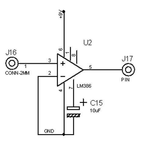 lm386 integrated circuit lifier chip a simple radio receiver