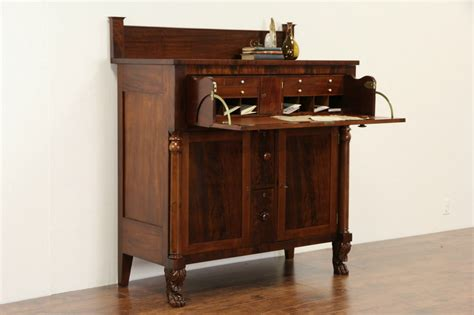 standing desk with drawers sold butler standing desk empire 1830 antique lion