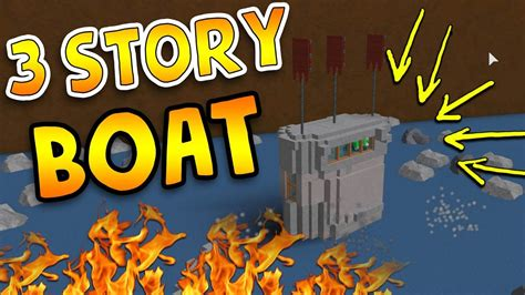 huge boat huge boat 3 stories build a boat for treasure roblox