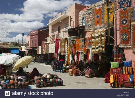 teppiche marrakesch marokko marrakesch souk verkauf teppiche afrika